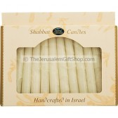 Safed Shabbat Candles - Off White