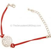 Shema Yisrael Bracelet - Red