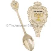 Teaspoon Souvenir - Jerusalem silver