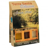Terra Santa Collection - Holy Land Elements Gift Pack 'Jordan River' with Olive Oil, Earth and Water