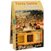 Terra Santa Collection - Holy Land Elements Gift Pack 'Nazareth' with Olive Oil, Earth and Water