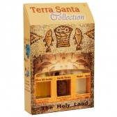 Terra Santa Collection - Holy Land Elements Gift Pack 'Tabgha' with Olive Oil, Earth and Water