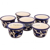 Middle Eastern Coffee Cup Set - Armenian Ceramic