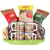 Turkish Coffee and Cups Gift Basket