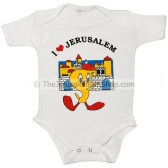 Tweety Pie 'I Love Jerusalem' Bodysuit