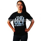 Uzi Does It - Tshirt