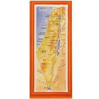 3D 'Touch Israel' Topographic Map Magnet - Medium - 5 inch