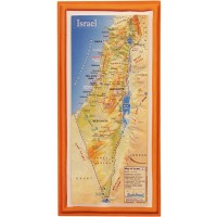 3D 'Touch Israel' Topographic Map Magnet - Large - 8 inch