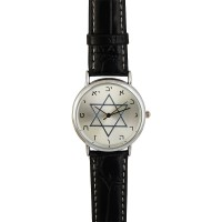 Alef-Bet Watch with a Star of David