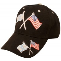 American and Israeli Flag - Baseball Cap