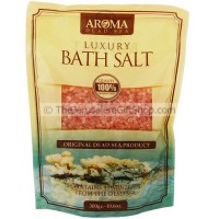 Aroma Luxury Dead Sea Bath Salt - Rose
