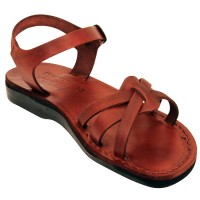 Biblical Leather Sandals - Ruth - Made in Bethlehem