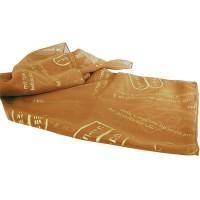 Biblical Scarf - The Ten Commandments - Gold