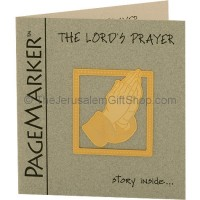 24k Gold Plated 'The Lord's Prayer' Bookmark