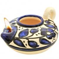 Oil Lamp - Armenian Ceramic