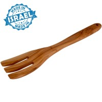 Chefs Olive Wood Large Fork from Bethlehem