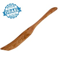 Chefs Olive Wood Large Spatula from Bethlehem