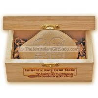 Holy Land Stone - Ten Commandments - Hebrew