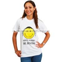 Don't Worry Be Jewish - Tshirt
