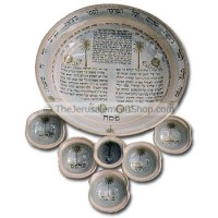 Pesach Plate - Exodus from Egypt