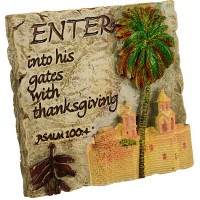 Fridge Magnet - Enter His Gates - Psalm 100:4