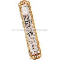 Grafted In Decorated Shaddai Mezuzah