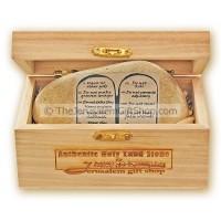 Holy Land Stone - Ten Commandments - English
