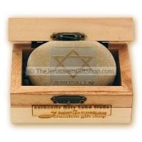 Holy Land Stone - Star of David - small stone