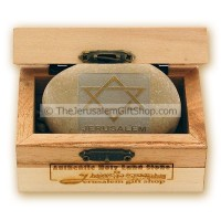 Holy Land Stone - Star of David - small stone