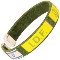 Clip-on IDF Bracelet - Tzahal - Israel Flag