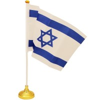 Israeli Flag - Desktop Table Flag of Israel