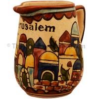 Jerusalem Armenian Milk Jug - Earth Tan