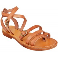 Jesus Sandals - Centurion - Handmade from Leather in the Holy Land