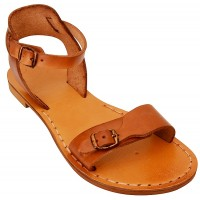 Jesus Sandals - King David - Handmade from Leather in the Holy Land