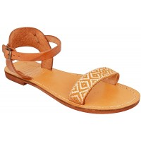 Jesus Sandals - Mount Carmel - Handmade from Leather in the Holy Land