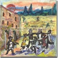 Kotel Jerusalem Dancing