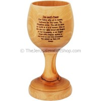 Communion Cup - 5 Inch - Last Supper - Lord's Prayer