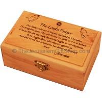 Medium Olive Wood 'The Lord's Prayer' Box