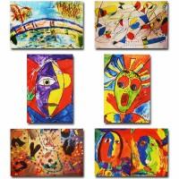 Makor HaTikva 'Abstract - Impressionist Collection' Card Set