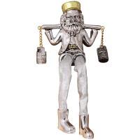 Rabbi Figurine - Celebrating Carrying Milk Urns