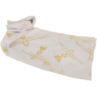 Biblical Scarf - Grafted In Romans 11:19 - White