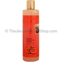 Exfoliating Shower Gel with Loofah - Red Grapefruit Aroma