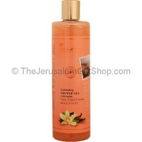 Exfoliating Shower Gel with Loofah - Vanilla and Patchouli