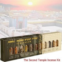 The Second Temple Incense Components kit - 11 components