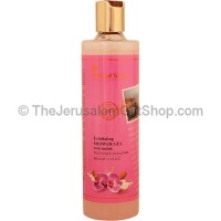 Exfoliating Shower Gel with Loofah - Wild Orchid and Almond Milk