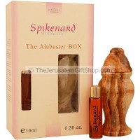 Spikenard Magdalena Perfume with Alabaster Jar