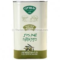 Yad Mordechai Olive Oil 1.5 Ltr can