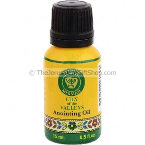 15ml Holy Land Anointing Oil - Lily of the Valley