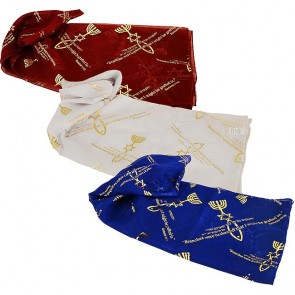 Biblical Scarf - Grafted In Romans 11:19 - Set of Three