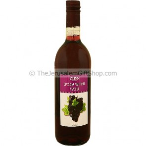 Communion Wine - Grape Juice by Zion Winery - 750ml